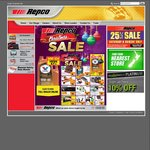 25% off Sale* Storewide This Weekend at Repco
