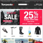 25% off Almost Everything @ Torpedo 7