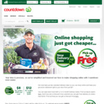 Free Pick-Up (Min Spend $50+), $8 Delivery for $200+, $12 Delivery for <$200 @ Countdown