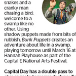 Win a Double Pass to Bunk Puppets from The Dominion Post (Wellington)