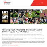 Win 2 Tickets to Every 2020 Event at Westpac Stadium from The Dominion Post