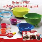Win 1 of 3 Boxes of Betty Crocker Mixes and a Joseph Joseph Nesting Set 9 Plus from Kidspot