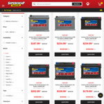 30% off  'DIN' Century Ultra High Performance Car Batteries at Supercheap Auto