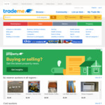 Free Selling on General Items in Home & Living on 5/6 @ Trade Me
