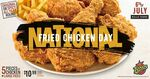 5 Pieces Fried Chicken (Original or Spicy) + Large Fries $10.99 on 6 July @ Texas Chicken
