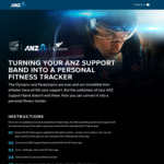 Free - Officially Convert Your ANZ Support Band to Fitness Tracker