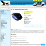HP 200 MRN Wireless Mouse - Blue $0.23c + Shipping @ Aquilatech