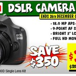 Canon EOS 1200D Single Lens Kit - $399 @ JB Hi-Fi - Voucher Required