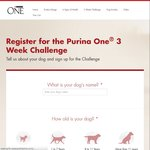 $5 off Purina One Cat/Dog Food @Purina