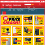 Heathcotes Boxing Day Deals - BEKO 320L Fridge E - $598 + F&P 8.5KG Front Load Washing Machine $999 and More