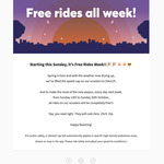 Free Rides 13/10-20/10 @ Beam Scooter