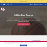 NBA League Pass Free for 30 Days