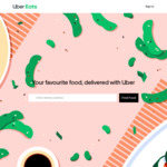 Two free Uber Eats deliveries