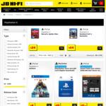 Various PS4 Games $9- $19 (Incl PS Hits @ $15) @ JB Hi-Fi
