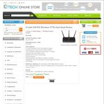 D-Link DIR-835 Wireless N750 Dual Band Router - $61.69 (Delivery from $5) @ Ktech
