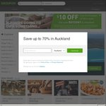 $10 off Any Deal (New Customers, $49 Minimum Spend) @ Groupon