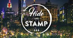 Hide N Stamp - Win a Trip to New York or Instant Win Prizes Such as Gift Cards, iTunes Vouchers + More