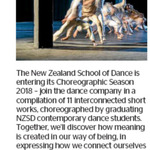 Win a Double Pass to The New Zealand School of Dance from The Dominion Post (Wellington)