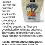 Win 1 of 3 Macy and Tailor Pretzel Packs from The Dominion Post
