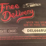 Free Delivery When You Spend $20 or More @ Hell Pizza