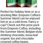 Win an Emporio Prize Pack (Coffee, Hot Chocolate, Beans) from The Dominion Post