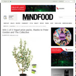 Win 1 of 3 The Collective Yogurt Prize Packs from Mindfood