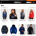 Superdry Jackets $99 AUD (~$104 NZD), Hoodies from $49 AUD (~$52 NZD) + Free Standard Shipping to NZ @ Superdry