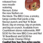 Win 1 of 5 Nutters Prize Packs from The Dominion Post