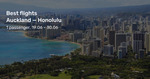 Auckland to Honolulu, Hawaii from $694 Return on Air New Zealand (June) @ Beat That Flight
