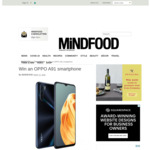 Win an OPPO A91 Smartphone (Worth $649) from Mindfood