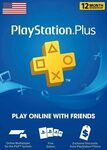 [US Accounts Only] PlayStation Plus 1 Year Subscription – $44.06 @ Eneba