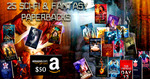 Win 25 Sci-Fi & Fantasy Paperbacks + $50 Amazon Gift Card.