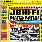 JB Hi-Fi Mates Rates Cost + Gst on Huge Range 50% off Blu-Ray