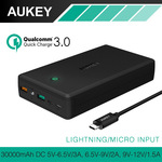 AUKEY 30000mAh Power Bank (QC 3.0 / AIpower) Dual USB Input/Output $48 Posted ($34.15 USD) @ AUKEY Official AliExpress Store