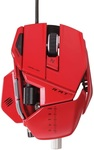 Mad Catz R.A.T 7 Gaming Mouse - Red @ Mighty Ape NZ ($73.00 + Shipping)