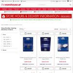 Brother Sewing Machines JA1400 $89, GS2510 $129 Delivered after Cashback - The Warehouse Red Alert