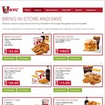 KFC February Coupons: Free Reg Drink with Kentucky Pulled Chicken Burger, Twister + Reg Krusher $8.50 + More
