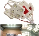 10x 4-LED Car Interior Light Kit for LWB Van Lorries Sprinter Ducato Transit VW NZ $12.71 (US $8.99) Delivered @Tmart.com