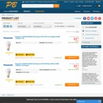 Panasonic LED Bulbs 4W $2.50 @ PB Tech