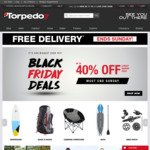 Torpedo7 Free Shipping until Sunday and Black Friday Deals