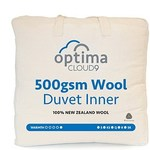 [Briscoes] Cloud 9 100% 500gsm Wool Duvet Inner with 100% Cotton Cover $79.99-139.99