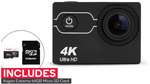 Kogan 4K Action Camera and 64GB Micro SD Card $59 Delivered @ Dick Smith/Kogan