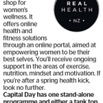 Win a Real Health NZ Stand-Alone Programme and Either a Tank Top, Hat or Water Bottle from The Dominion Post