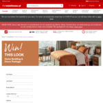 Win a Home Bedding and Décor Package from The Warehouse