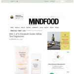 Win 1 of 5 30ml Elizabeth Arden White Tea Fragrances (Worth $49 Each) from Mindfood