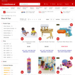 50% off Clearance Toys | Buy One Get One Half Price (Stackable) @ The Warehouse