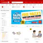 Free McDonald's $27 Meal Voucher When You Spend $25 or More on Hasbro Games @ The Warehouse