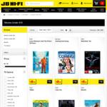 DVDs/Blu-Rays from $0.98 @ JB Hi-Fi