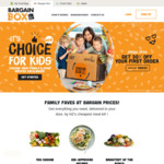 50% off Sitewide @ BargainBox & My Food Bag (New Users)