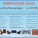 Warehouse Sale - Formerly John Young Furniture Now Dixie Cummings up to 70% off Retail